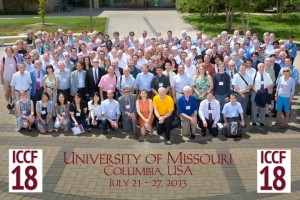 ICCF18 group photo. From the ICCF18 Statistics document at the University of Missouri MOspace digital repository. Click for larger image.